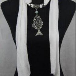 Smyckesjal modell 1834, hänge fisk