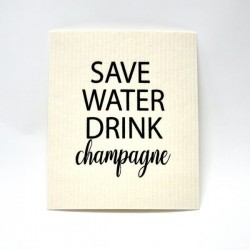 "DISKTRASA ""SAVE WATER DRINK CHAMPAGNE"""