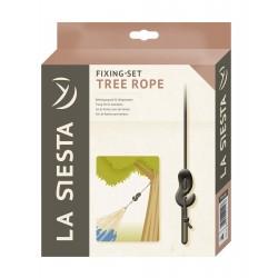 Upphängning för hängmattor mellan träd