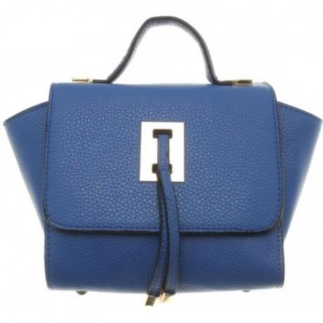 Väska liten, blå, bredd 28 cm, höjd 17 cm