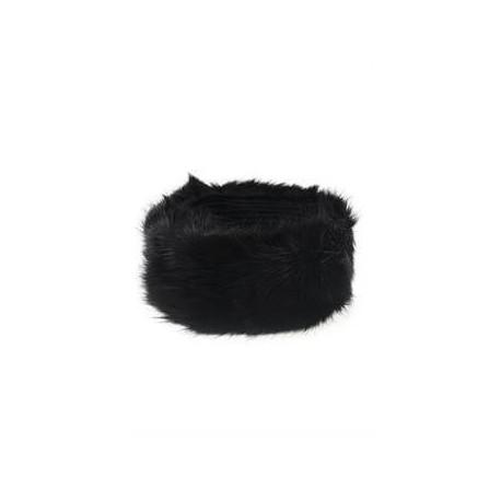 Pälstub svart