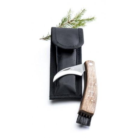 Svampkniv med fodral