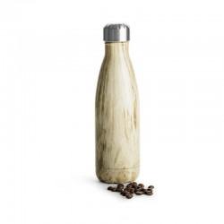 Stålflaska trä, 50 cl
