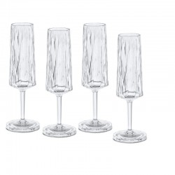 CLUB NO. 5 Champagneglas 4-pack 100 ml
