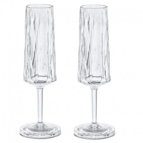 CLUB NO. 5 Champagneglas 2-pack 100 ml