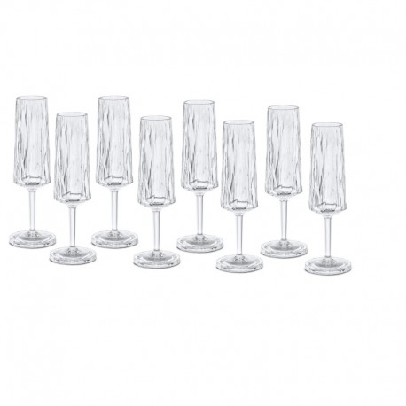 CLUB NO. 5 Champagneglas 8-pack 100 ml