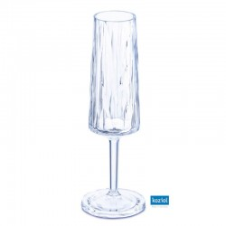 CLUB NO. 5 Champagneglas 100ml, aquamarine
