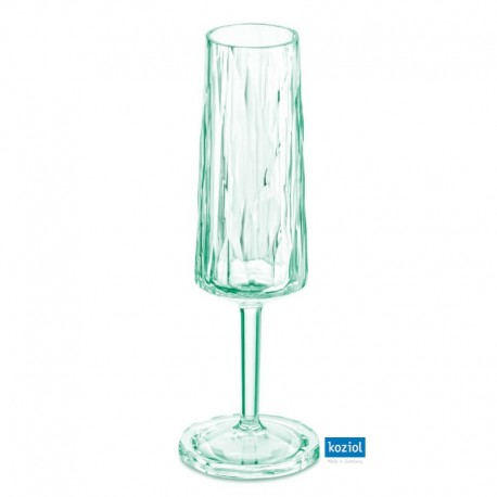 CLUB NO. 5 Champagneglas 100ml, jade