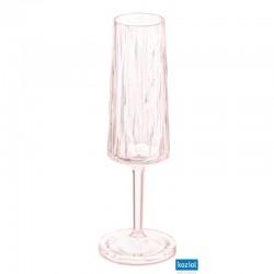 CLUB NO. 5 Champagneglas 100ml, rosa
