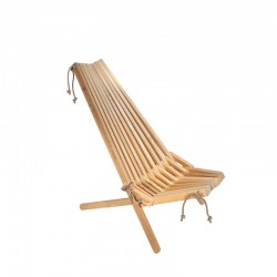 EcoChair stol,  Al natur