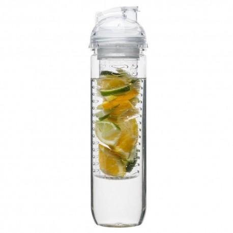 Fresh flaska med fruktkolv, klar