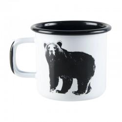 Emaljmugg Björnen