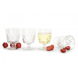 Picnic altanglas ¤-pack, transparent