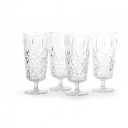 Picnic högt glas 4-pack