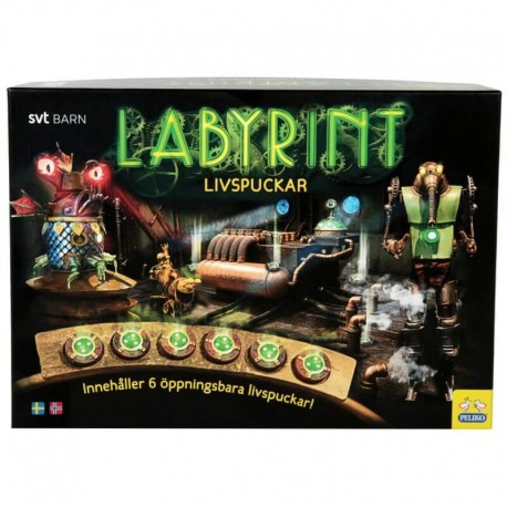 Spel Labyrint Livspuckar
