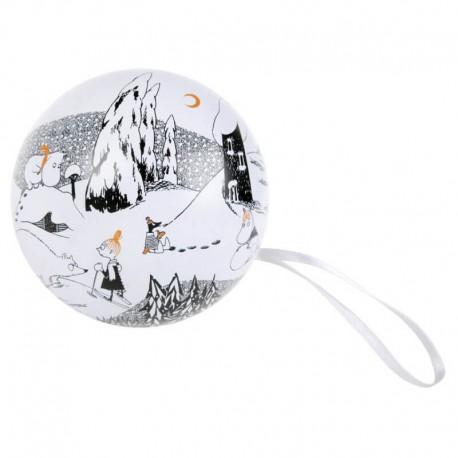 Dekorationsboll Mumin Isbjörn