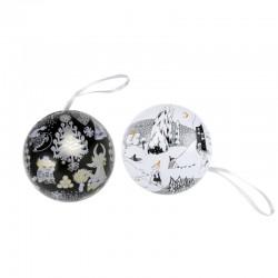 Dekorationsboll Too-Ticks Jul och Isbjörn skattboll