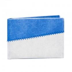 Plånbok grå/blå