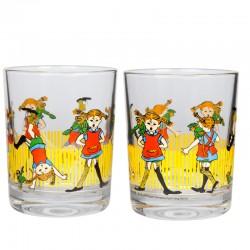 Pippi Långstrump 2-pack Glas