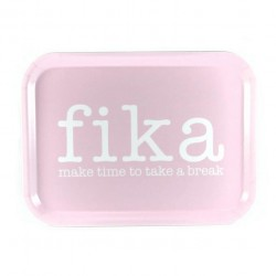 "Bricka ""Make time FIKA"""