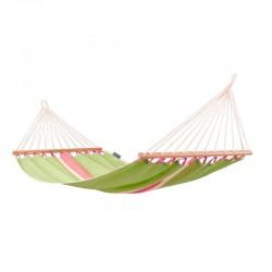 Singel hängmatta med träkarmar Fruta Kiwi