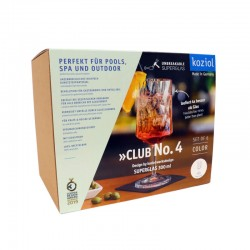 CLUB NO. 4 Vinglas 350ml, transparent grå