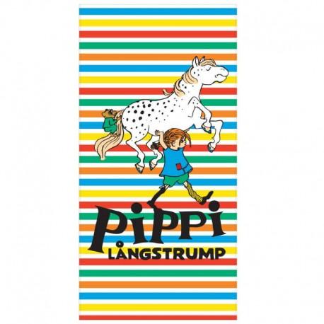 Pippi randig badhandduk 70 X 140