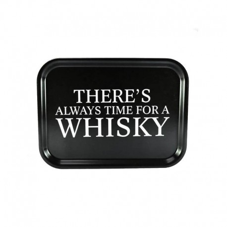 Bricka Whisky svart