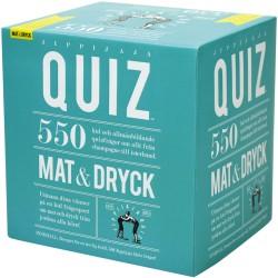 Jippijaja Quiz, Mat & Dryck