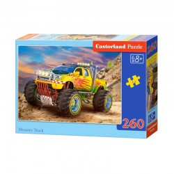 Pussel Monster truck 260 bitar