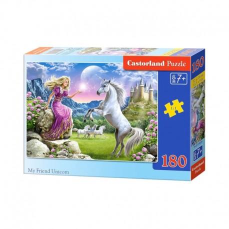 Pussel My friend Unicorn 180 bitar