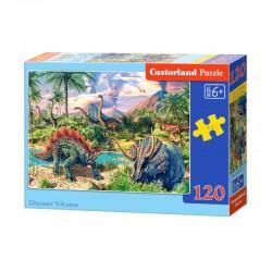 Pussel Dinosaur Volcanos, 120 bitar