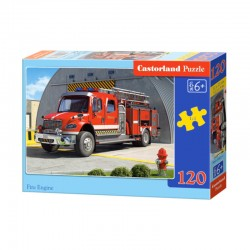 Pussel Fire engine 120 bitar