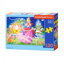 Pussel Cinderella, 120 bitar