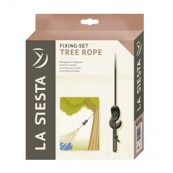 Träd- och balkupphängning för hängmattor, Tree Rope Black