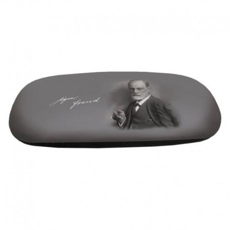 Glasögonetui med putsduk Sigmund Freud