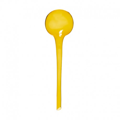 Bevattningsboll glas 28 cm gul